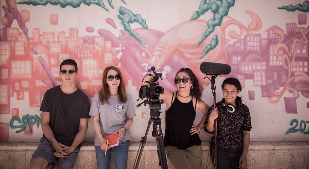 """kadr z filmu""""Wędrowcy – Jerusalem Film Workshop 2017"""""""