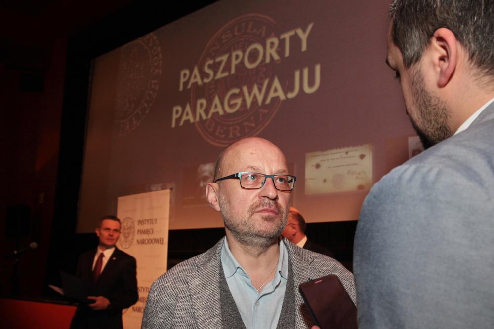 Robert Kaczmarek - reżyser filmu Paszporty Paragwaju