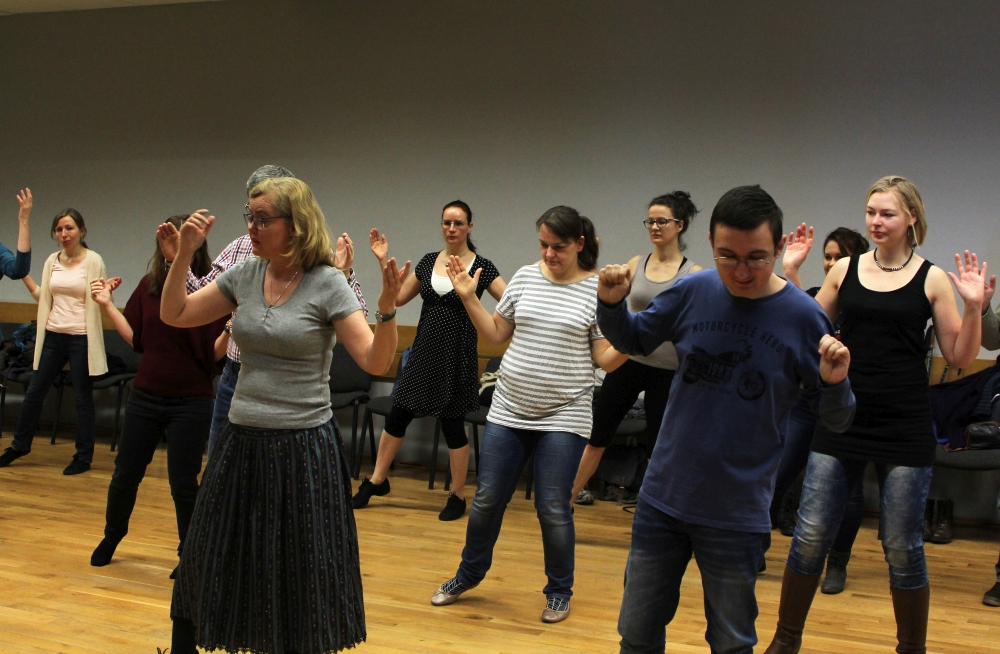 Shalom Polin 2018 warsztaty tańca izraelskiego-Alicja Stark fot. Weronika Stadnik