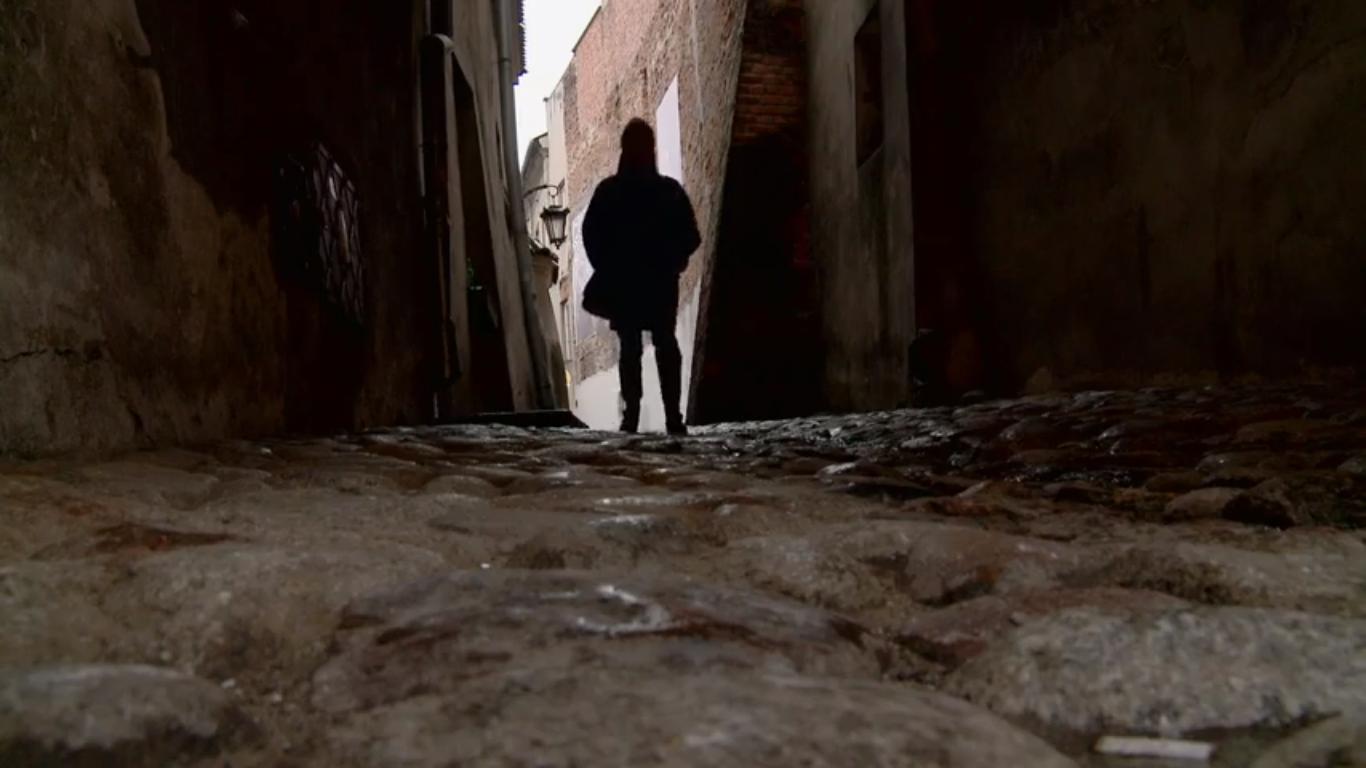 Kadr filmowy W poszukiwaniu portretów, reż. Elizabeth Rynecki