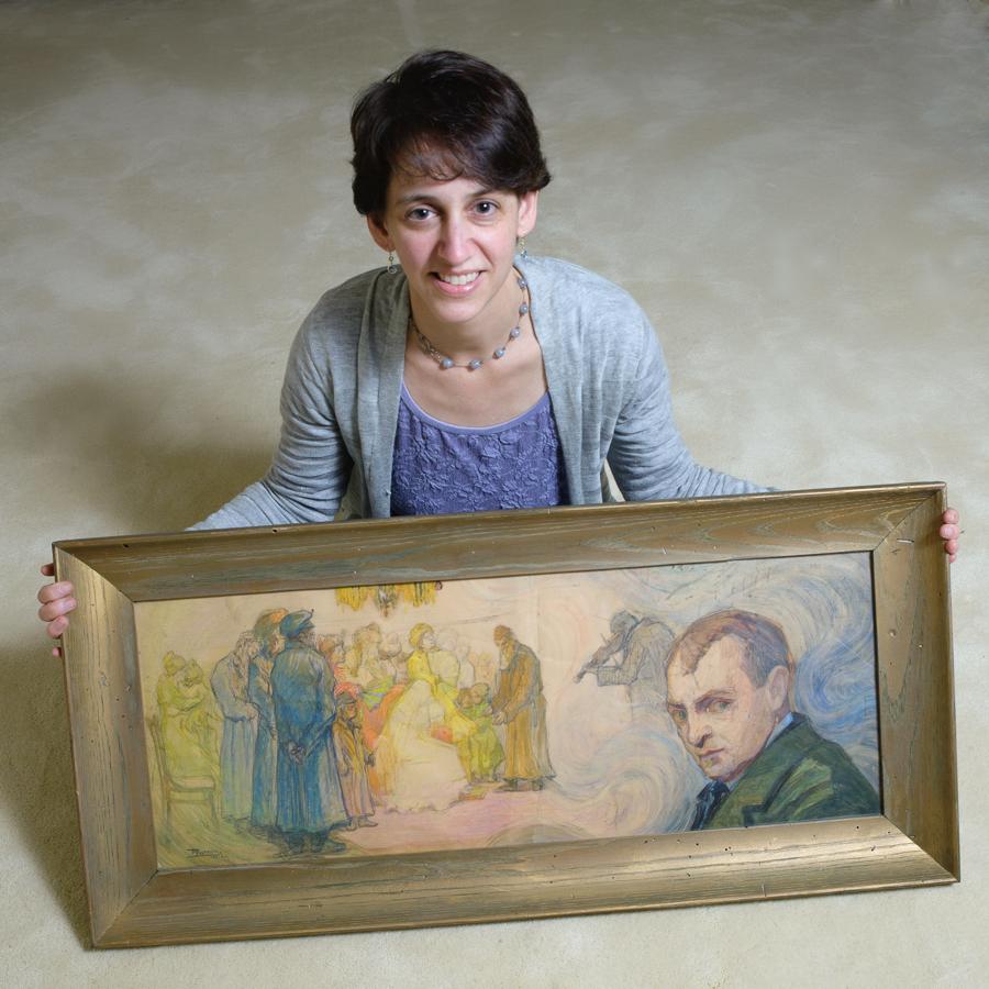 Elizabeth Rynecki - reżyser filmu W poszukiwaniu portretów