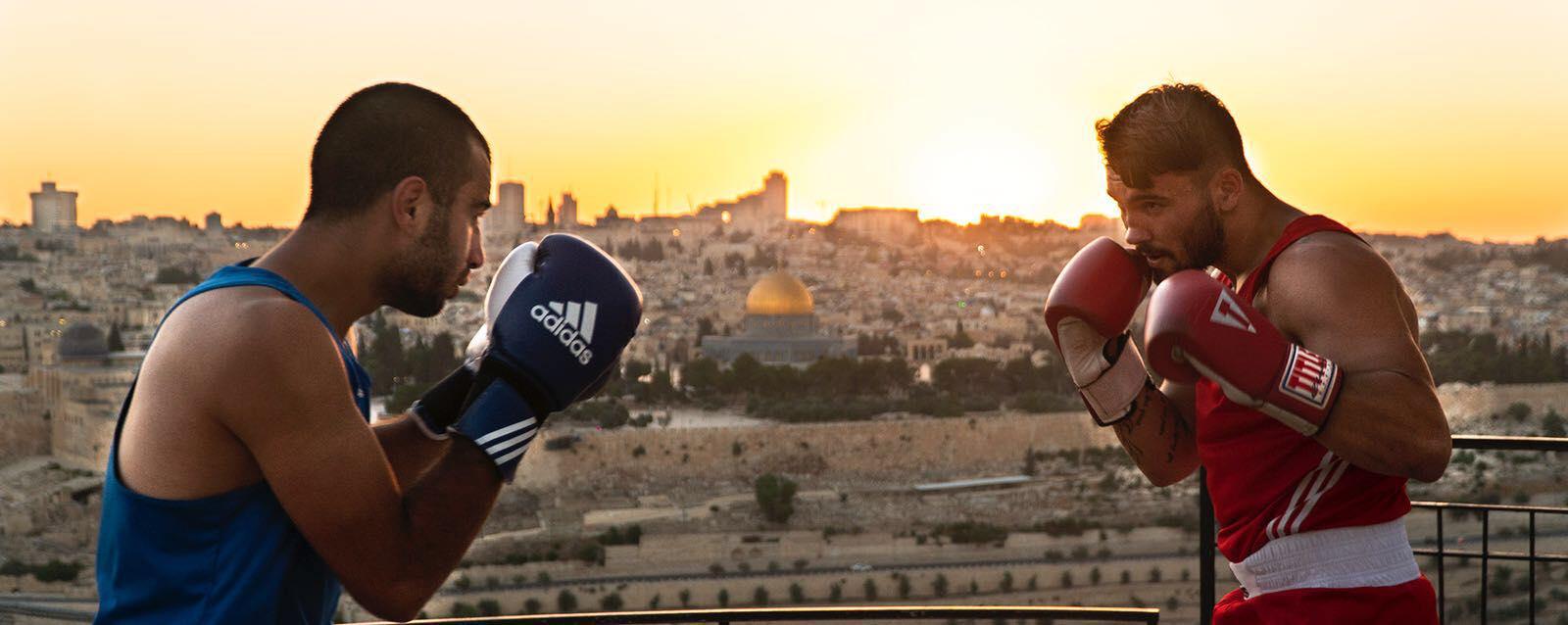 Kadr filmowy Jerusalem In Between, reż. Pietro Pinto